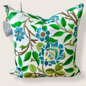 NWT Custom Made Pillow w/ Kate Spade ♠️ Velvet